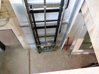 Montagezeit Serie 910: Aufzugsfahrbahn