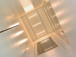 Montagezeit Serie 910: LED Panel im Schachtkopf