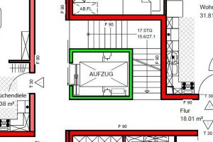 aufzugsschacht so klein ist m glich steinweg aufz ge. Black Bedroom Furniture Sets. Home Design Ideas